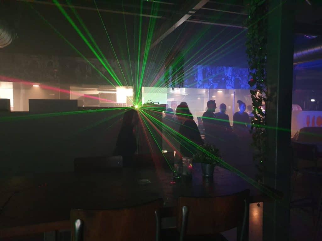 Lasergame kantoor arena