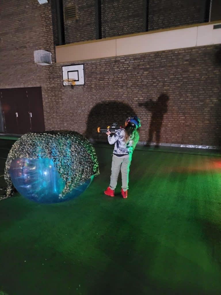 Lasergamen kinderfeestje